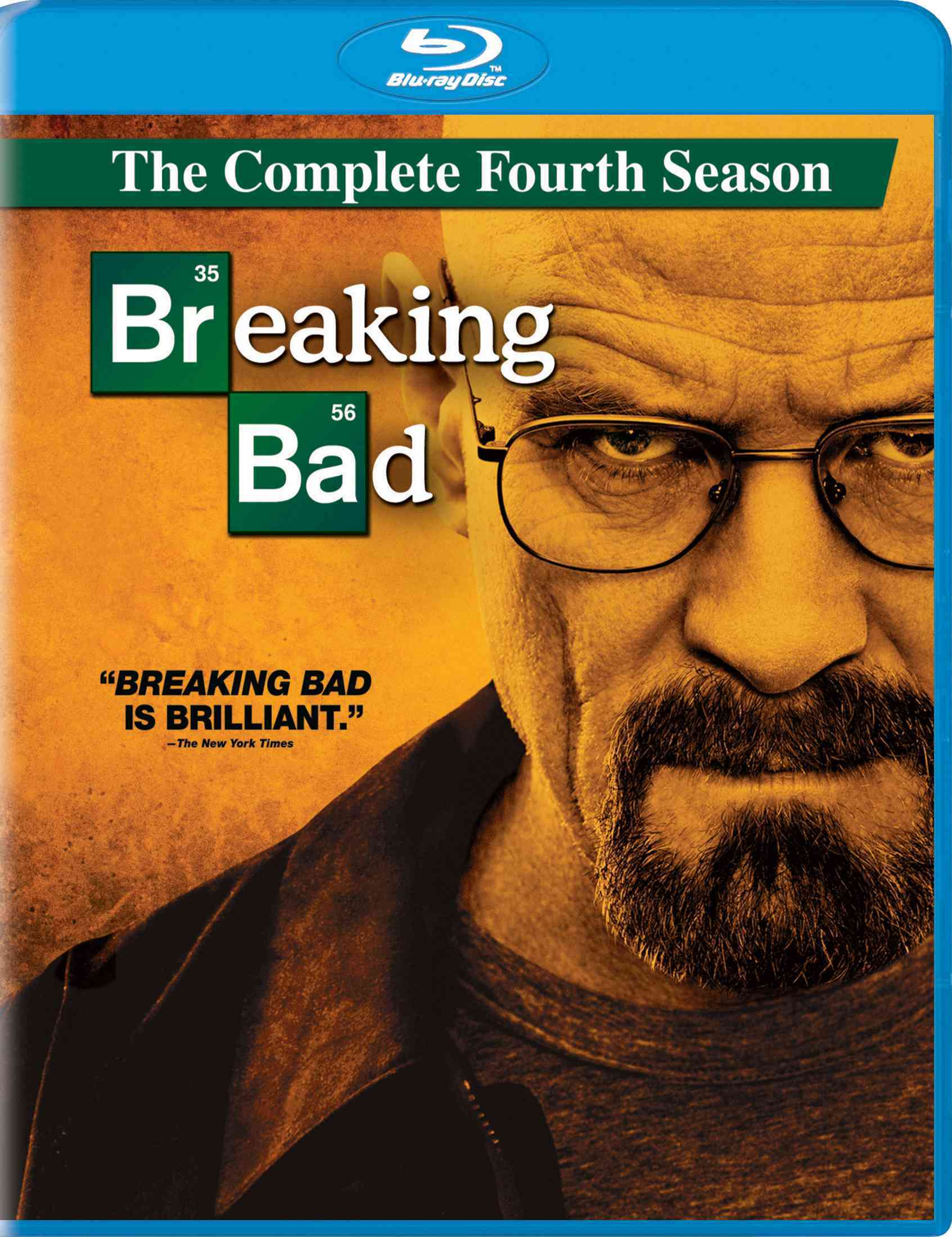 BREAKING BAD:COMPLETE FOURTH SEASON BY CRANSTON,BRYAN (Blu-Ray)